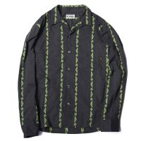 <img class='new_mark_img1' src='https://img.shop-pro.jp/img/new/icons49.gif' style='border:none;display:inline;margin:0px;padding:0px;width:auto;' />CALEE - Jacquard stripe L/S shirt