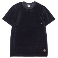 <img class='new_mark_img1' src='https://img.shop-pro.jp/img/new/icons49.gif' style='border:none;display:inline;margin:0px;padding:0px;width:auto;' />CALEE - Velour t-shirt