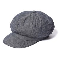 <img class='new_mark_img1' src='https://img.shop-pro.jp/img/new/icons49.gif' style='border:none;display:inline;margin:0px;padding:0px;width:auto;' />CALEE - Denim casquette