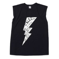 <img class='new_mark_img1' src='https://img.shop-pro.jp/img/new/icons49.gif' style='border:none;display:inline;margin:0px;padding:0px;width:auto;' />CALEE - LIGHTNING NO SLEEVE T-SHIRT