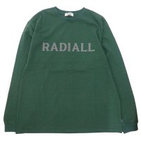<img class='new_mark_img1' src='https://img.shop-pro.jp/img/new/icons49.gif' style='border:none;display:inline;margin:0px;padding:0px;width:auto;' />RADIALL - LOGOTYPE CREW NECK T-SHIRT L/S