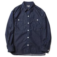 <img class='new_mark_img1' src='https://img.shop-pro.jp/img/new/icons49.gif' style='border:none;display:inline;margin:0px;padding:0px;width:auto;' />CALEE - BIG SIZE L/S DENIM SHIRT
