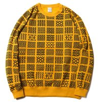 <img class='new_mark_img1' src='https://img.shop-pro.jp/img/new/icons49.gif' style='border:none;display:inline;margin:0px;padding:0px;width:auto;' />CALEE - ALLOVER PATTERN SWEAT
