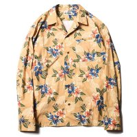 <img class='new_mark_img1' src='https://img.shop-pro.jp/img/new/icons49.gif' style='border:none;display:inline;margin:0px;padding:0px;width:auto;' />CALEE - FLOWER PATTERN L/S SHIRT