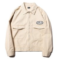 <img class='new_mark_img1' src='https://img.shop-pro.jp/img/new/icons49.gif' style='border:none;display:inline;margin:0px;padding:0px;width:auto;' />CALEE - HERINGBONE STRIPE JACKET