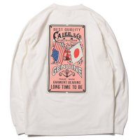 <img class='new_mark_img1' src='https://img.shop-pro.jp/img/new/icons49.gif' style='border:none;display:inline;margin:0px;padding:0px;width:auto;' />CALEE - FLAG LOGO L/S T-SHIRT