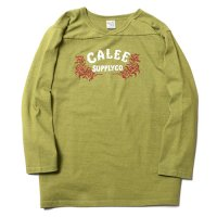 <img class='new_mark_img1' src='https://img.shop-pro.jp/img/new/icons49.gif' style='border:none;display:inline;margin:0px;padding:0px;width:auto;' />CALEE - 3/4 SLEEVE FOOTBALL T-SHIRT