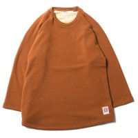 <img class='new_mark_img1' src='https://img.shop-pro.jp/img/new/icons49.gif' style='border:none;display:inline;margin:0px;padding:0px;width:auto;' />CALEE - BOMBER HEAT 3/4 SLEEVE CUTSEW