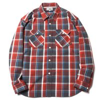 <img class='new_mark_img1' src='https://img.shop-pro.jp/img/new/icons49.gif' style='border:none;display:inline;margin:0px;padding:0px;width:auto;' />CALEE - L/S HEAVY NEL CHECK SHIRT