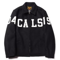 <img class='new_mark_img1' src='https://img.shop-pro.jp/img/new/icons49.gif' style='border:none;display:inline;margin:0px;padding:0px;width:auto;' />CALEE - WOOL MELTON SPORTS TYPE WAPPEN JACKET