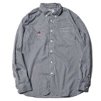 <img class='new_mark_img1' src='https://img.shop-pro.jp/img/new/icons49.gif' style='border:none;display:inline;margin:0px;padding:0px;width:auto;' />CALEE - Gingham check l/s shirt