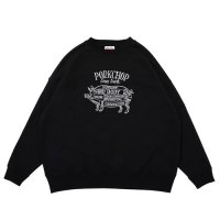 <img class='new_mark_img1' src='https://img.shop-pro.jp/img/new/icons49.gif' style='border:none;display:inline;margin:0px;padding:0px;width:auto;' />PORKCHOP - PORK FRONT STITCH SWEAT