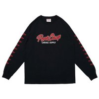 <img class='new_mark_img1' src='https://img.shop-pro.jp/img/new/icons49.gif' style='border:none;display:inline;margin:0px;padding:0px;width:auto;' />PORKCHOP - SCRIPT LOGO L/S TEE