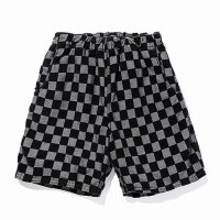 <img class='new_mark_img1' src='https://img.shop-pro.jp/img/new/icons49.gif' style='border:none;display:inline;margin:0px;padding:0px;width:auto;' />CALEE - Jacquard pile checker pattern short pants