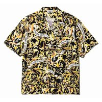 <img class='new_mark_img1' src='https://img.shop-pro.jp/img/new/icons49.gif' style='border:none;display:inline;margin:0px;padding:0px;width:auto;' />CALEE - Allover leaf pattern S/S shirt