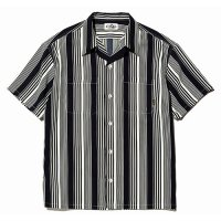 <img class='new_mark_img1' src='https://img.shop-pro.jp/img/new/icons49.gif' style='border:none;display:inline;margin:0px;padding:0px;width:auto;' />CALEE - S/S stripe shirt