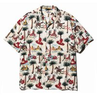 <img class='new_mark_img1' src='https://img.shop-pro.jp/img/new/icons5.gif' style='border:none;display:inline;margin:0px;padding:0px;width:auto;' />CALEE - Allover western patten S/S shirt