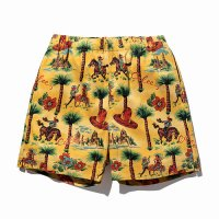 <img class='new_mark_img1' src='https://img.shop-pro.jp/img/new/icons49.gif' style='border:none;display:inline;margin:0px;padding:0px;width:auto;' />CALEE - Allover western patten short pants