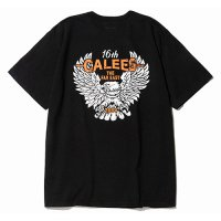 <img class='new_mark_img1' src='https://img.shop-pro.jp/img/new/icons49.gif' style='border:none;display:inline;margin:0px;padding:0px;width:auto;' />CALEE - Binder neck eagle pocket t-shirt