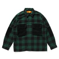 <img class='new_mark_img1' src='https://img.shop-pro.jp/img/new/icons49.gif' style='border:none;display:inline;margin:0px;padding:0px;width:auto;' />CHALLENGER - L/S BUFFALO CHECK SHIRT
