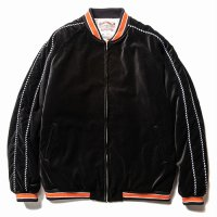 <img class='new_mark_img1' src='https://img.shop-pro.jp/img/new/icons5.gif' style='border:none;display:inline;margin:0px;padding:0px;width:auto;' />CALEE - Velveteen embroidery lib jacket