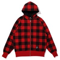 <img class='new_mark_img1' src='https://img.shop-pro.jp/img/new/icons5.gif' style='border:none;display:inline;margin:0px;padding:0px;width:auto;' />CHALLENGER - BUFFALO CHECK HOODIE