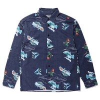 <img class='new_mark_img1' src='https://img.shop-pro.jp/img/new/icons5.gif' style='border:none;display:inline;margin:0px;padding:0px;width:auto;' />CHALLENGER - L/S FLANNEL PRINTED SHIRT