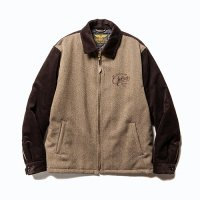 <img class='new_mark_img1' src='https://img.shop-pro.jp/img/new/icons49.gif' style='border:none;display:inline;margin:0px;padding:0px;width:auto;' />CALEE - Corduroy/Tweed sports type jacket
