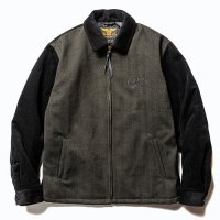 <img class='new_mark_img1' src='https://img.shop-pro.jp/img/new/icons5.gif' style='border:none;display:inline;margin:0px;padding:0px;width:auto;' />CALEE - Corduroy/Tweed sports type jacket