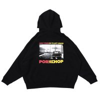 <img class='new_mark_img1' src='https://img.shop-pro.jp/img/new/icons49.gif' style='border:none;display:inline;margin:0px;padding:0px;width:auto;' />PORKCHOP - C-10 PHOTO HOODIE