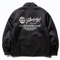 <img class='new_mark_img1' src='https://img.shop-pro.jp/img/new/icons49.gif' style='border:none;display:inline;margin:0px;padding:0px;width:auto;' />CALEE - T/C Twill work jacket