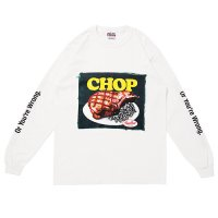 <img class='new_mark_img1' src='https://img.shop-pro.jp/img/new/icons5.gif' style='border:none;display:inline;margin:0px;padding:0px;width:auto;' />PORKCHOP - CHOP TEE L/S TEE