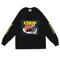 <img class='new_mark_img1' src='https://img.shop-pro.jp/img/new/icons49.gif' style='border:none;display:inline;margin:0px;padding:0px;width:auto;' />PORKCHOP - CHOP TEE L/S TEE
