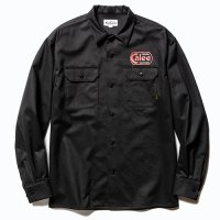 <img class='new_mark_img1' src='https://img.shop-pro.jp/img/new/icons5.gif' style='border:none;display:inline;margin:0px;padding:0px;width:auto;' />CALEE - Cotton twill L/S wappen work shirt