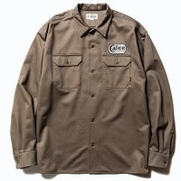 <img class='new_mark_img1' src='https://img.shop-pro.jp/img/new/icons49.gif' style='border:none;display:inline;margin:0px;padding:0px;width:auto;' />CALEE - Cotton twill L/S wappen work shirt