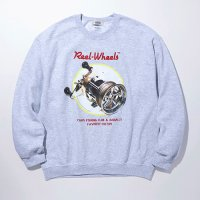 <img class='new_mark_img1' src='https://img.shop-pro.jp/img/new/icons5.gif' style='border:none;display:inline;margin:0px;padding:0px;width:auto;' />RADIALL - GAMBLING HOURS C.N. SWEATSHIRT L/S