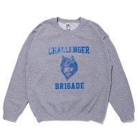 <img class='new_mark_img1' src='https://img.shop-pro.jp/img/new/icons49.gif' style='border:none;display:inline;margin:0px;padding:0px;width:auto;' />CHALLENGER - WOLF COLLEGE C/N SWEAT