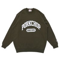 <img class='new_mark_img1' src='https://img.shop-pro.jp/img/new/icons49.gif' style='border:none;display:inline;margin:0px;padding:0px;width:auto;' />PORKCHOP - COLLEGE SWEAT