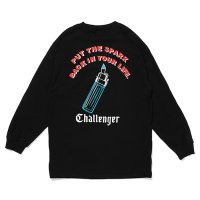<img class='new_mark_img1' src='https://img.shop-pro.jp/img/new/icons49.gif' style='border:none;display:inline;margin:0px;padding:0px;width:auto;' />CHALLENGER - L/S PUT THE SPARK TEE