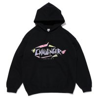 <img class='new_mark_img1' src='https://img.shop-pro.jp/img/new/icons49.gif' style='border:none;display:inline;margin:0px;padding:0px;width:auto;' />CHALLENGER - SHARK LOGO HOODIE
