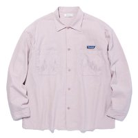 <img class='new_mark_img1' src='https://img.shop-pro.jp/img/new/icons49.gif' style='border:none;display:inline;margin:0px;padding:0px;width:auto;' />RADIALL - SLOW BURN OPEN COLLARED SHIRT L/S