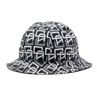 <img class='new_mark_img1' src='https://img.shop-pro.jp/img/new/icons5.gif' style='border:none;display:inline;margin:0px;padding:0px;width:auto;' />CALEE - Allover monogram pattern reversible metro hat