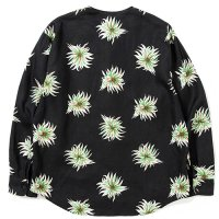 <img class='new_mark_img1' src='https://img.shop-pro.jp/img/new/icons5.gif' style='border:none;display:inline;margin:0px;padding:0px;width:auto;' />CALEE - Allover flower pattern linen no collar L/S shirt