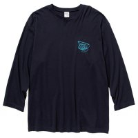 <img class='new_mark_img1' src='https://img.shop-pro.jp/img/new/icons5.gif' style='border:none;display:inline;margin:0px;padding:0px;width:auto;' />CALEE - Smooth fabric set in 3/4 sleeve t-shirt