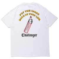 <img class='new_mark_img1' src='https://img.shop-pro.jp/img/new/icons49.gif' style='border:none;display:inline;margin:0px;padding:0px;width:auto;' />CHALLENGER - PUT THE SPARK TEE