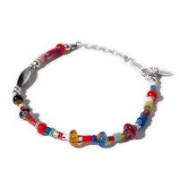 <img class='new_mark_img1' src='https://img.shop-pro.jp/img/new/icons5.gif' style='border:none;display:inline;margin:0px;padding:0px;width:auto;' />glamb - Mix beads bracelet