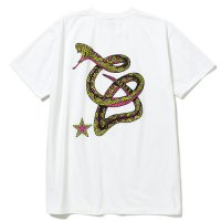 <img class='new_mark_img1' src='https://img.shop-pro.jp/img/new/icons5.gif' style='border:none;display:inline;margin:0px;padding:0px;width:auto;' />CALEE - Stretch snake logo t-shirt