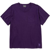 <img class='new_mark_img1' src='https://img.shop-pro.jp/img/new/icons5.gif' style='border:none;display:inline;margin:0px;padding:0px;width:auto;' />CALEE - Vintage reproduct knitted fabric u neck t-shirt