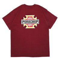 <img class='new_mark_img1' src='https://img.shop-pro.jp/img/new/icons49.gif' style='border:none;display:inline;margin:0px;padding:0px;width:auto;' />PORKCHOP - BAR & SHIELD TEE
