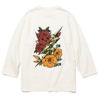 <img class='new_mark_img1' src='https://img.shop-pro.jp/img/new/icons5.gif' style='border:none;display:inline;margin:0px;padding:0px;width:auto;' />CALEE - 8 Length sleeve thunderbolt set in t-shirt